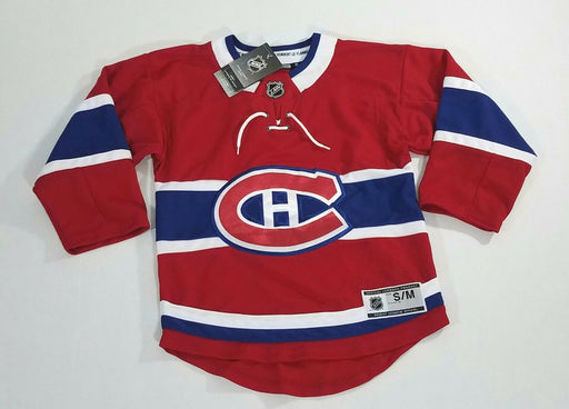 Montreal Canadiens Youth Home Hockey Jersey (Red Outerstuff) - Pastime Sports & Games