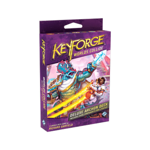 Keyforge Worlds Collide Deluxe Archon Deck - Pastime Sports & Games
