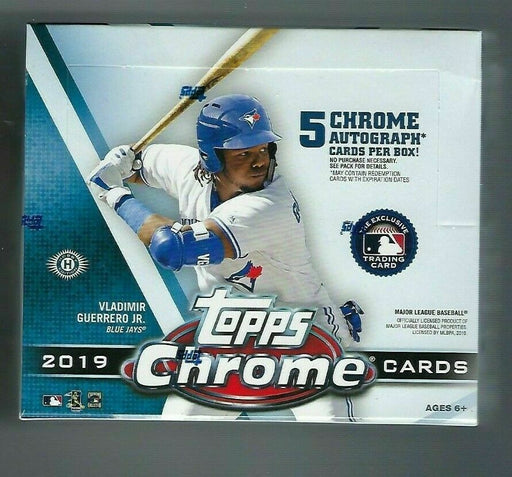 2019 Topps Chrome Baseball Jumbo