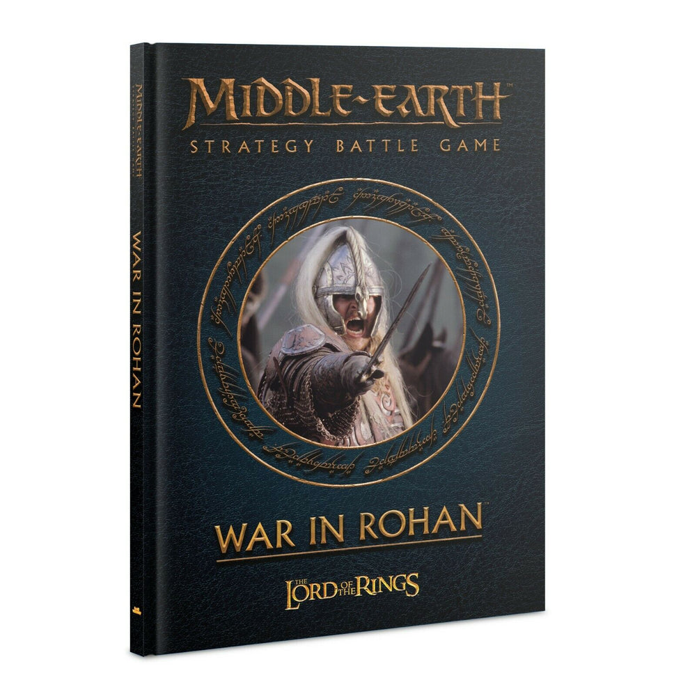 Middle Earth Strategy Battle Game The Lord Of The Rings War in Rohan (30-12) - Pastime Sports & Games