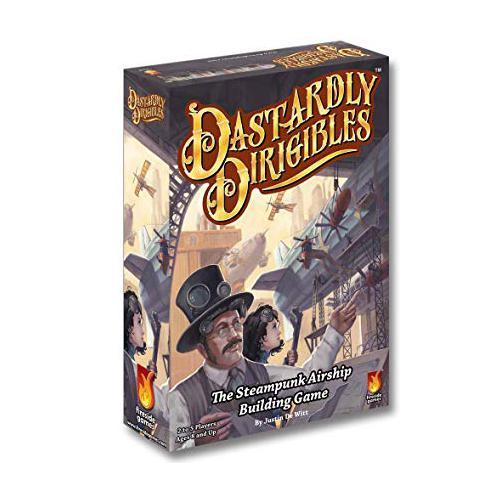 Fireside Games Dastardly Dirigibles Board Game - Pastime Sports & Games