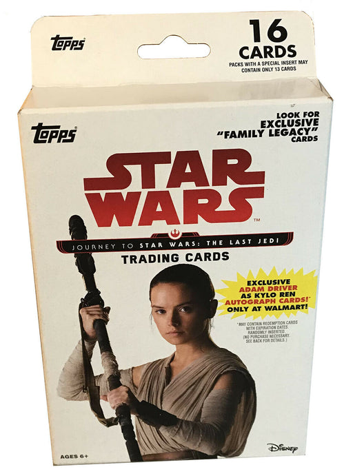 2017 Topps Star Wars Journey To Star Wars The Last Jedi Hanger Box - Pastime Sports & Games