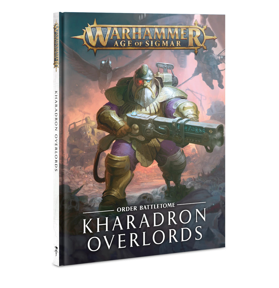 Warhammer Age Of Sigmar Order Battletome Kharadron Overlords (84-02) - Pastime Sports & Games