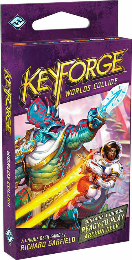 Keyforge Worlds Collide Booster - Pastime Sports & Games