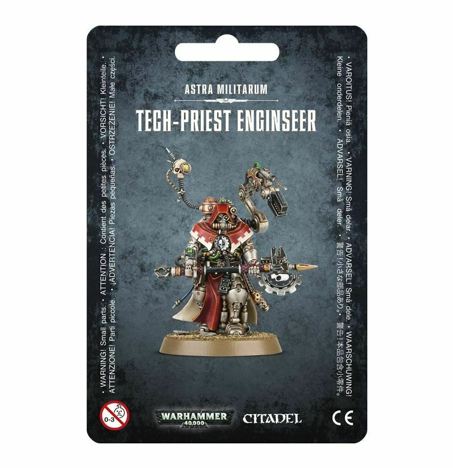 Warhammer 40,000 Astra Militarum Tech-Priest Enginseer (47-27) - Pastime Sports & Games