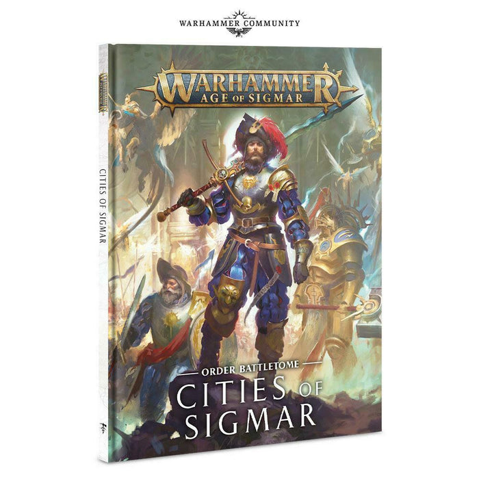 Warhammer Age of Sigmar Order Battletome Cities of Sigmar (86-47) - Pastime Sports & Games