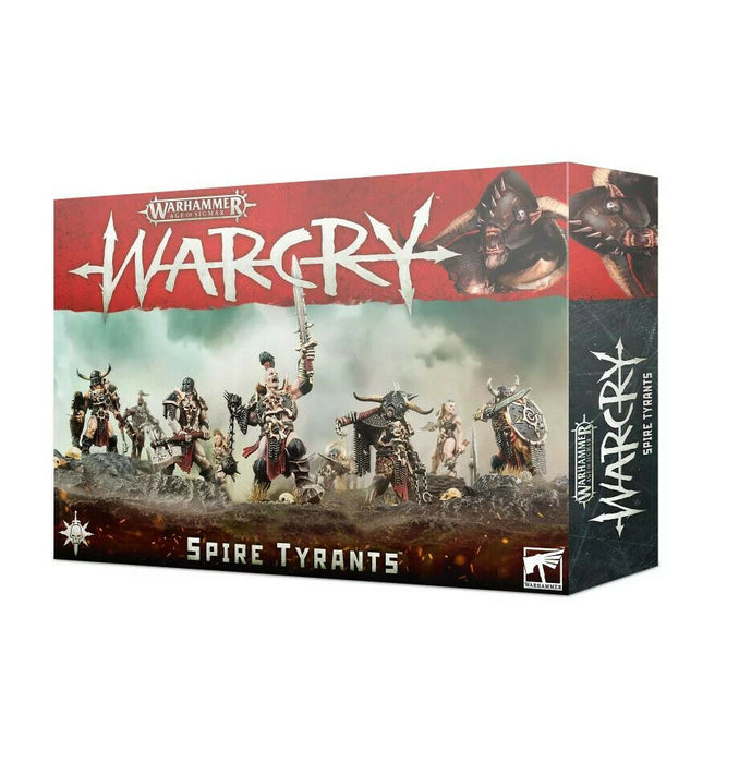 Warhammer Age of Sigmar Warcry Spire Tyrants (111-26) - Pastime Sports & Games