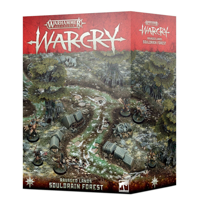 Warhammer Age of Sigmar Warcry Ravaged Lands Souldrain Forest (111-33) - Pastime Sports & Games