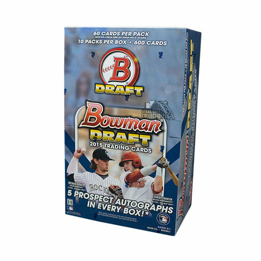 2015 Topps Bowman Draft Baseball Super Jumbo Hobby - Pastime Sports & Games