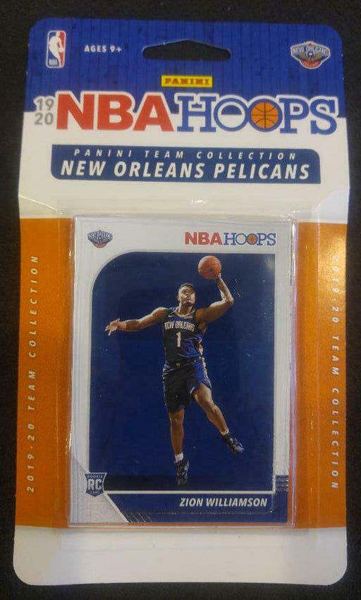 "2019/20 Panini NBA Hoops Team Collection New Orleans Pelicans ""Zion Williamson RC"" - Pastime Sports & Games"