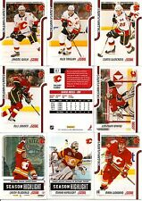 2011/12 Panini Score Calgary Flames Team Card Set - Pastime Sports & Games