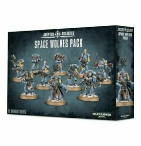 Warhammer 40,000 Adeptus Astartes Space Wolves Pack (53-06) - Pastime Sports & Games