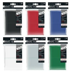 Ultra Pro Matte Deck Protector Sleeves - Pastime Sports & Games