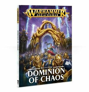 Warhammer Age Of Sigmar Battletome Dominion Of Chaos (83-05-60) - Pastime Sports & Games