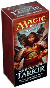 Magic The Gathering Khans Of Tarkir Event Deck - Pastime Sports & Games
