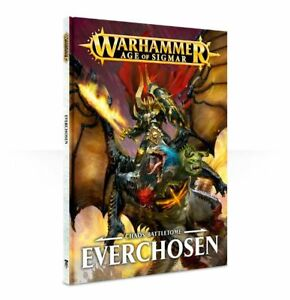 Warhammer Age Of Sigmar Chaos Battletome: Everchosen (83-39-60) - Pastime Sports & Games