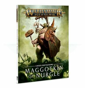 Warhammer Age Of Sigmar Chaos Battletome Maggotkin Of Nurgle (83-58-60) - Pastime Sports & Games