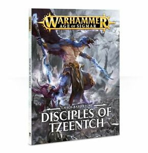 Warhammer Age Of Sigmar Chaos Battletome Disciples Of Tzeentch (Paperback) (83-45-60) - Pastime Sports & Games