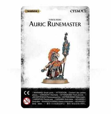 Warhammer Age Of Sigmar Fyreslayers Auric Runemaster (84-21) - Pastime Sports & Games