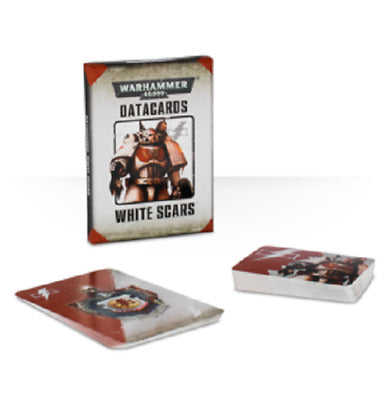 Warhammer 40,000 Datacards: White Scars (48-04-60) - Pastime Sports & Games