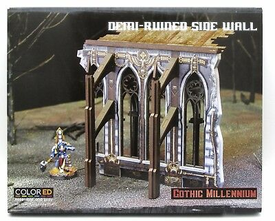 Gothic Millennium Demi-Ruined Side Wall - Pastime Sports & Games