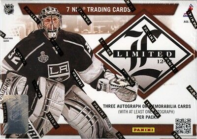 2012/13 Panini Limited Hockey Hobby