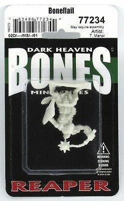 Reaper Bones Dark Heaven Boneflail Miniature - Pastime Sports & Games