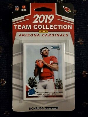 2019 Panini Donruss NFL Team Collection Arizona Cardinals - Pastime Sports & Games