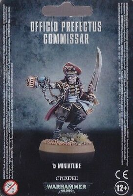 Warhammer 40,000 Officio Perfectus Commissar (47-20) - Pastime Sports & Games