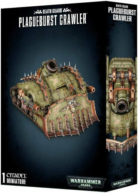 Warhammer 40,000 Death Guard Plagueburst Crawler (43-52) - Pastime Sports & Games