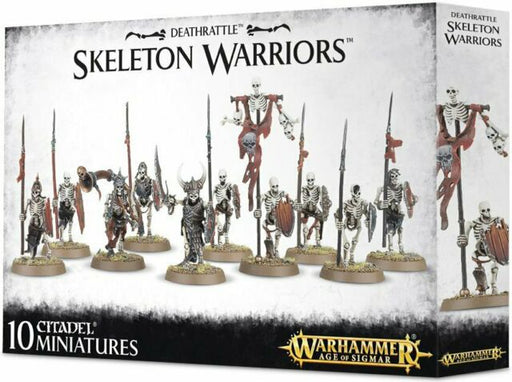 Warhammer Age Of Sigmar Deathrattle Skeleton Warriors (91-06)