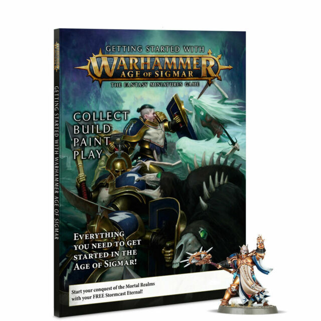 Getting Started With Warhammer Age Of Sigmar (80-16) - Pastime Sports & Games