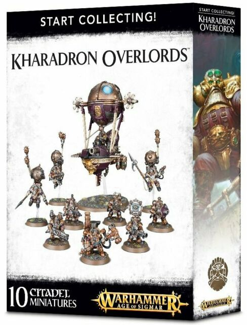 Warhammer Age Of Sigmar Start Collecting! Kharadron Overlords (70-80) - Pastime Sports & Games