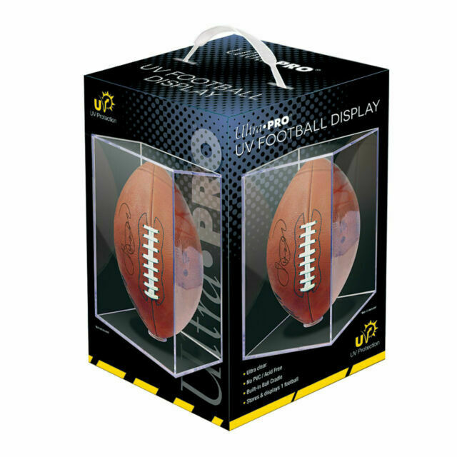 Ultra Pro Football Display - Pastime Sports & Games
