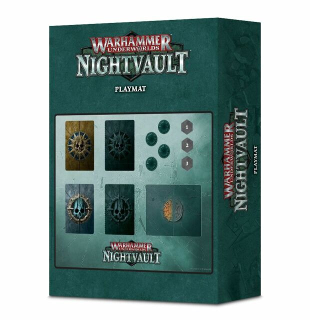 Warhammer Underworlds Nightvault Playmat (110-40) - Pastime Sports & Games