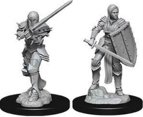 D&D Nolzur's Marvelous Miniatures Female Human Fighter W9 (73705)