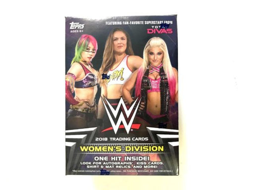 2018 Topps WWE Womens Division Blaster Box - Pastime Sports & Games