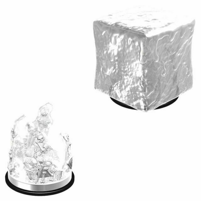 D&D Nolzur's Marvelous Miniatures Gelatinous Cube W6 (73401) - Pastime Sports & Games