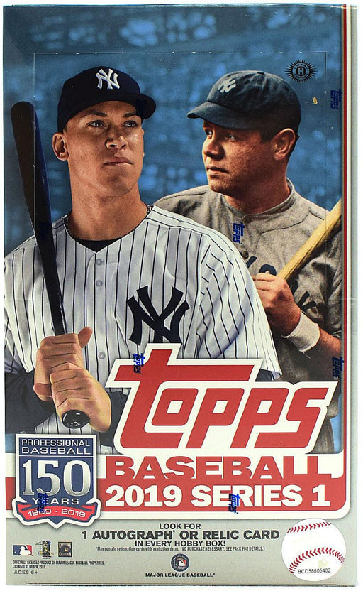 2019 Topps Series One Baseball Hobby - Pastime Sports & Games