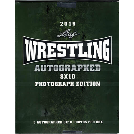 2019 Leaf Wrestling Autographed 8x10 Photograph Edition - Pastime Sports & Games