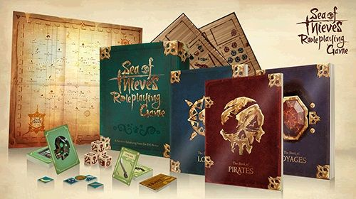 Sea of Thieves Roleplaying Game Box Set - Pastime Sports & Games