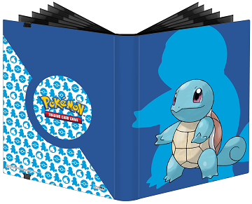 Ultra Pro Pokemon 9PKT Pro-Binder Squirtle - Pastime Sports & Games
