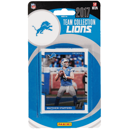 2017 Panini Detroit Lions Team Collection - Pastime Sports & Games