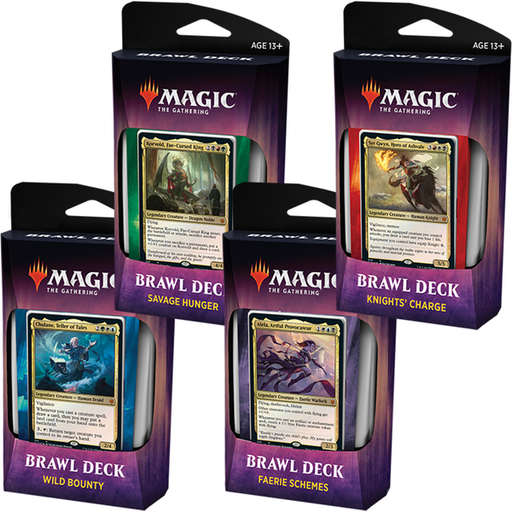 Magic The Gathering Throne Of Eldraine Brawl Deck - Pastime Sports & Games