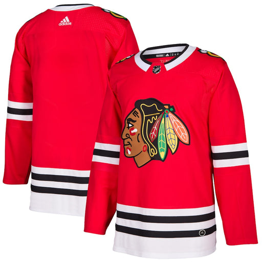 2017/18 Chicago Blackhawks Adidas Home Red Jersey - Pastime Sports & Games