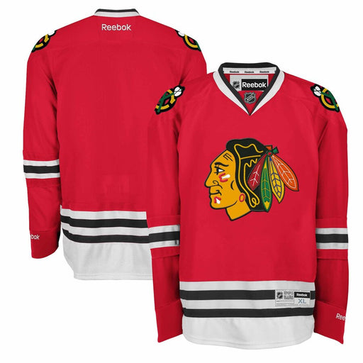 2015/16 Chicago Blackhawks Reebok On Ice Pro Home Red Jersey