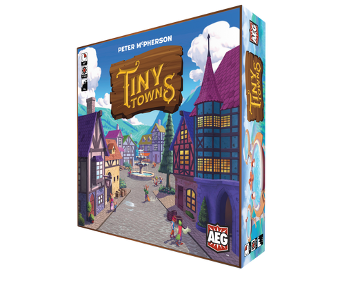 Tiny Towns Main Game & Expansions (Sold Separately) - Pastime Sports & Games