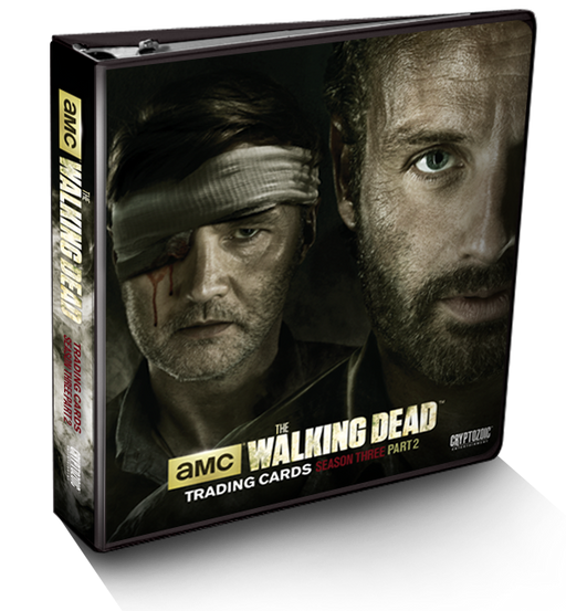 Cryptozoic AMC The Walking Dead Season Three Part 2 Binder - Pastime Sports & Games