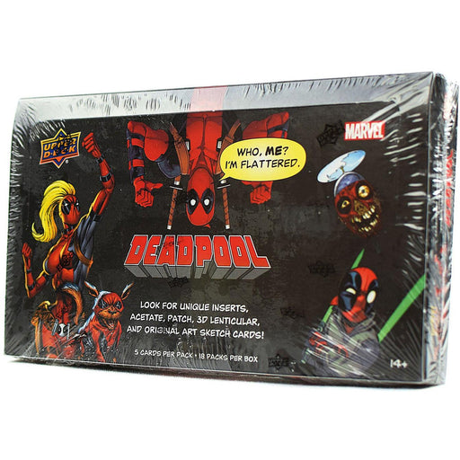 2018 Marvel Deadpool Hobby - Pastime Sports & Games