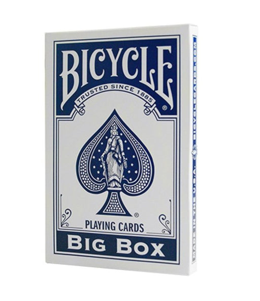 Bicycle Playing Cards: Big Box Blue - Pastime Sports & Games